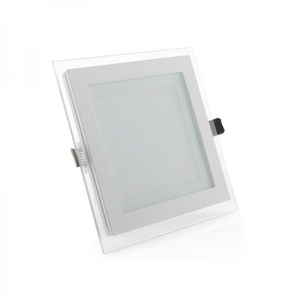 Downlight LED 16W Cuadrado Cristal
